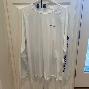 Columbia pfg long sleeve Tshirt size xxl